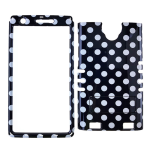 XL Rocker Snap Rocker Snap-On. White Dots on Black