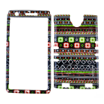 XL Rocker Snap Rocker Snap-On. Tribal Design
