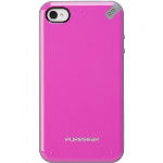 APPLE IPHONE 4/4S PURE GEAR SLIM SHELL CASE - RASPBERRY MELON