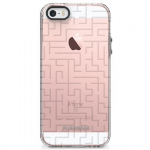 APPLE IPHONE 5/5S/SE PUREGEAR MOTIF SERIES CASE - CLEAR/GRAY AMAZING
