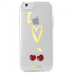 APPLE IPHONE 6/6S SKECH FASHION SERIES CASE - CHERRIES