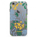 APPLE IPHONE 6/6S PUREGEAR MOTIF SERIES CASE - CLEAR/RAINFOREST