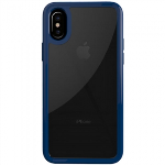 APPLE IPHONE X TRIDENT KRIOS DUAL SERIES CASE - CLEAR/BLUE