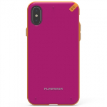 APPLE IPHONE X PUREGEAR SLIM SHELL SERIES CASE - SUNSET PINK