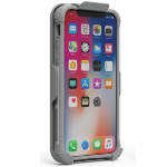 APPLE IPHONE X PUREGEAR DUALTEK CASE WITH HIP CLIP HOLSTER - WHITE