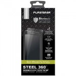 LG V30 PUREGEAR STEEL 360 SCREEN PROTECTOR WITH INSTALLATION TRAY - TEMPERED GLASS