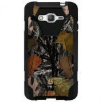 SAMSUNG GALAXY GRAND PRIME BEYOND CELL SHELL CASE HYBER V2 CASE - HUNTER