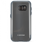 SAMSUNG GALAXY S7 PUREGEAR SLIM SHELL PRO SERIES CASE - CLEAR/BLUE