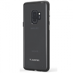 SAMSUNG GALAXY S9 PUREGEAR SLIM SHELL CASE - CLEAR/BLACK