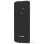 PUREGEAR SLIM SHELL CASE FOR SAMSUNG GALAXY S9 - BLACK/BLACK