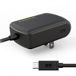 PUREGEAR 3 AMP USB TYPE C (USB-C) CORDED AC TRAVEL CHARGER - BLACK