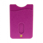 CASECO UNIVERSAL PEEL & STICK PHONE NINJA WALLET - PURPLE