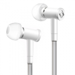 AIRCOM A1 HANDSFREE AIRFLOW EARBUDS WITH IN LINE MIC AND 3.5MM JACK - WHITE