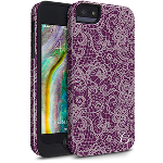 Cellairis Aero Case for Apple iPhone 5S/SE - Aero Lace Plum/Pink