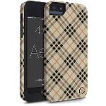 Cellairis Aero Case for Apple iPhone 5S/SE - Aero Plaid City Girl
