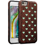 Cellairis Aero Case for Apple iPhone 6/S Plus - Aero Wood Heart Dark Min