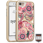 Cellairis Rapture Case for Apple iPhone 7 - Rapt GD Paisley Blossom