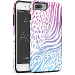 Cellairis Aero Case for Apple iPhone 7 Plus/8 Plus - Aero Animal Zebra Raibow