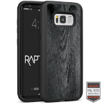 Cellairis Aero Case for Samsung Galaxy S8 - Rapt BK Wood Dark
