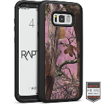 Cellairis Aero Case for Samsung Galaxy S8 Plus - Rapt BK Camo Woods Pink 1