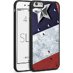 Cellairis Rapture Case for Apple iPhone 6/6S Plus - Slim Flag USA Metal