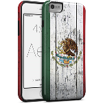 Cellairis Aero Case for Apple iPhone 6/S Plus - Aero Flag Mexico Wood