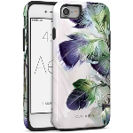 Cellairis Aero Case for Apple iPhone 7/8 - Aero Feather Plume Purple Gre