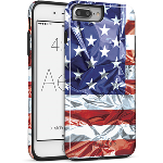 Cellairis Aero Case for Apple iPhone 7 Plus/8 Plus - Aero Flag USA Mylar 2