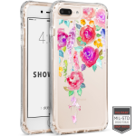 Cellairis Showcase Case for Apple iPhone 7 Plus /8 Plus - Showcase Clear Floral Vine