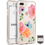 Cellairis Showcase Case for Apple iPhone 7 Plus /8 Plus - Showcase Clear Floral Lithianthus