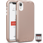 Cellairis Aero Case for Apple iPhone XR - Rapture Rose Gold/White Matte Finish