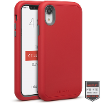 Cellairis Aero Case for Apple iPhone XR - Rapture Red/Dark Grey Matte Finish