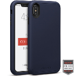 Cellairis Aero Case for Apple iPhone XS Max - Rapture Navy Blue/Black Matte Finish
