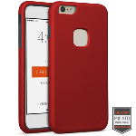 Cellairis Rapture Case for Apple iPhone 6/6S Plus - Rapture Red/Dark Gray Matte Finish