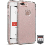 Cellairis Rapture Case for Apple iPhone 7 Plus - Rapture Clear Silver Glitter/Pink