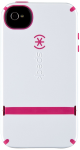 Speck CandyShell Flip Case for Apple iPhone 4/4S - White/Raspberry