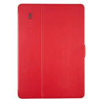 Speck Products StyleFolio Case for Apple iPad Air - Dark Poppy Red/Slate Gray