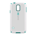 Speck CandyShell Case for Samsung Galaxy S5 (Nickel White/Teal)