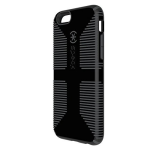 Speck CandyShell Grip Case for Apple iPhone 6 / 6S (Black/Slate Grey)