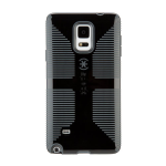 Speck CandyShell Grip Case for Samsung Galaxy Note 4 (Black/Slate Gray)