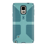 Speck CandyShell Grip Galaxy Note 4 Case - Tahoe Blue / River Blue