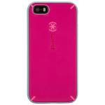Speck MightyShell Case for Apple iPhone 5/5S/SE - Fuschia Pink/Cupcase Pink/Heritage Grey