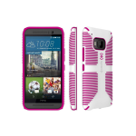 Speck CandyShell Grip Case for HTC One M9 - White/Pink