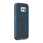 Speck CandyShell Grip for Samsung Galaxy S6 - Charcoal Gray/Harbor Blue