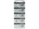 Energizer 379 Silver Oxide Watch Battery SR521SW (5 Batetries)