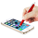 Reiko - Universal Hanging Stylus pen with clip design - Red