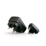 OEM Motorola United Kingdom UK Plug Adapter SYN7455 (Black) - SYN7455