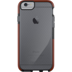Tech21 Classic Impact Check Case for iPhone 6/6s - Smokey Gray/Red