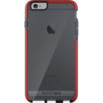 Tech21 Evo Mesh Case for Apple iPhone 6 Plus/6S Plus (Smokey/Red)