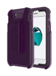 Tech21 Evo Tactical Extreme Edition Case with Holster for iPhone 7/6/6s - Violet